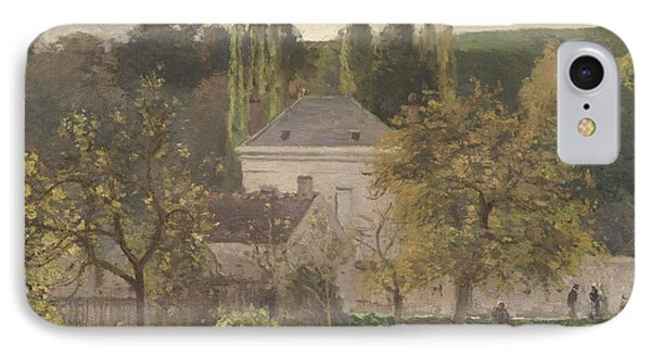 House In The Hermitage IPhone Case by Camille Pissarro