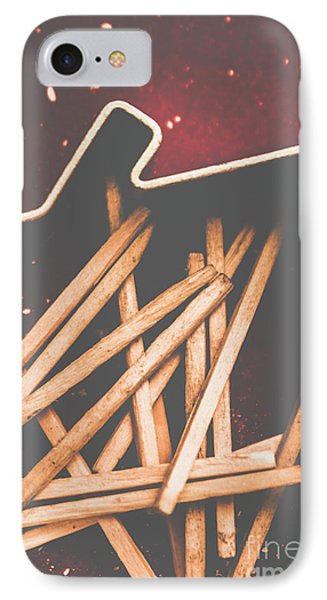 House Of Arson IPhone Case by Jorgo Photography - Wall Art Gallery