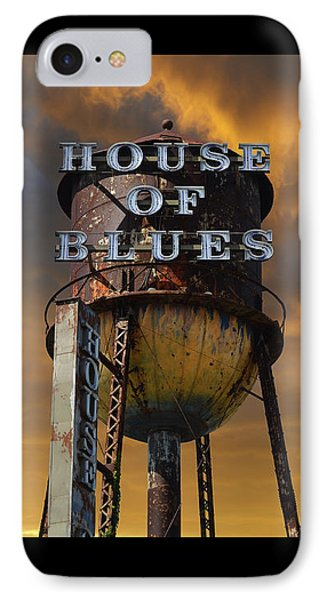 IPhone Case featuring the photograph House Of Blues  by Laura Fasulo