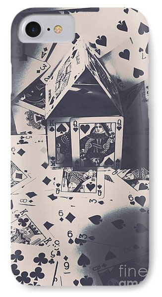 IPhone Case featuring the photograph House Of Cards by Jorgo Photography - Wall Art Gallery