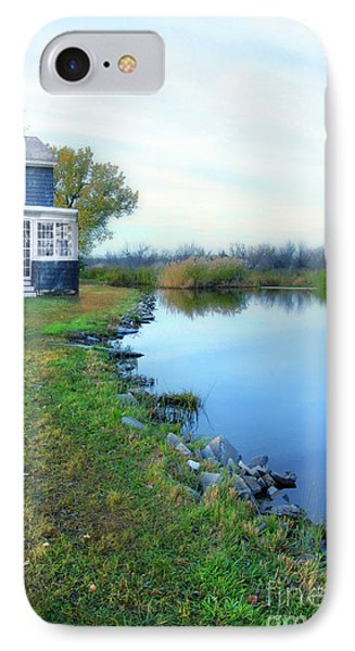 IPhone Case featuring the photograph House On A Lake by Jill Battaglia