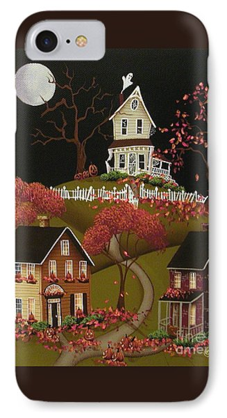 House On Haunted Hill Phone Case by Catherine Holman