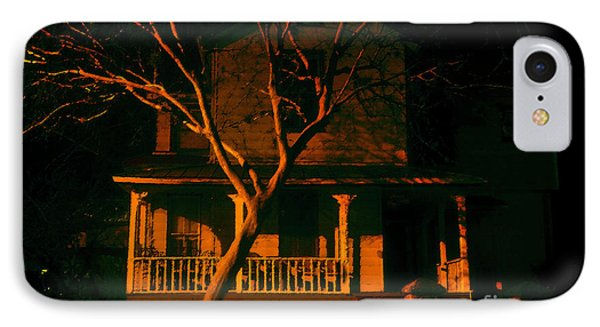House On Haunted Hill IPhone Case by David Lee Thompson