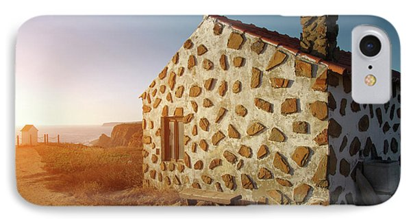 IPhone Case featuring the photograph House On The Cliff by Carlos Caetano