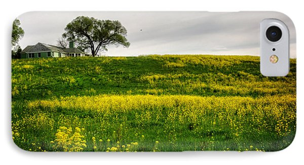 House On The Hill IPhone Case by Greg Mimbs