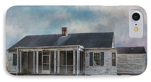 IPhone Case featuring the photograph House On The Hill by Kim Hojnacki