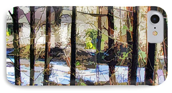 House Surrounded By Trees 2 Phone Case by Lanjee Chee