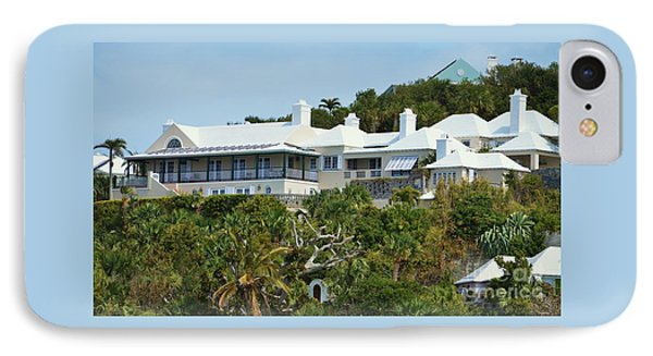 House With A View, Bermuda IPhone Case