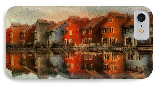 Houses By The Sea IPhone Case by Kai Saarto