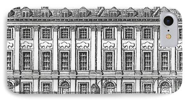 Houses Great Queen Street, 1817 IPhone Case