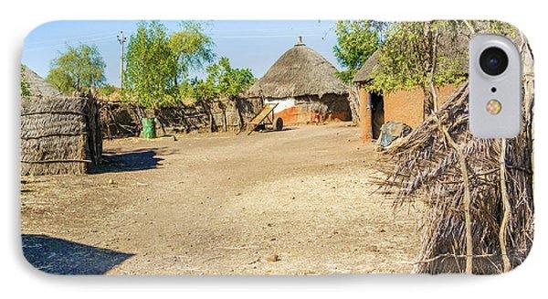 Houses In Rashid,  Sudan IPhone Case