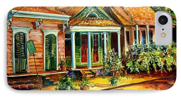 Houses In The Marigny Phone Case by Diane Millsap