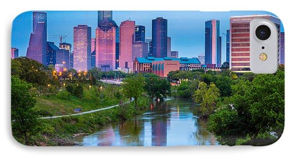 Houston Sunrise IPhone Case by Inge Johnsson