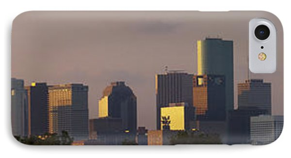 Houston Sunset IPhone Case by Joshua House