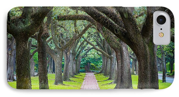 Houston Trees IPhone Case by Inge Johnsson