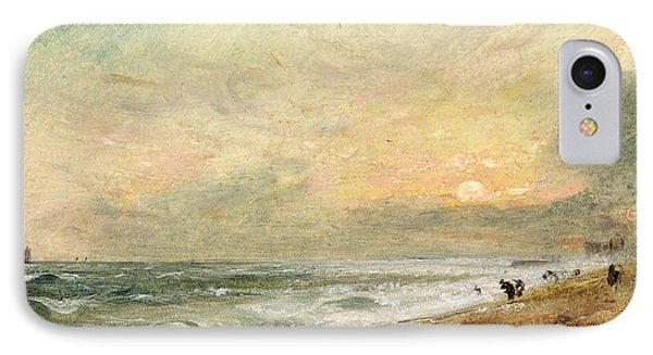 Hove Beach Phone Case by John Constable