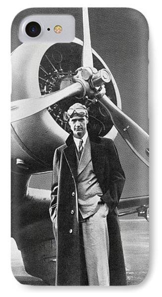 Howard Hughes, Us Aviation Pioneer IPhone Case