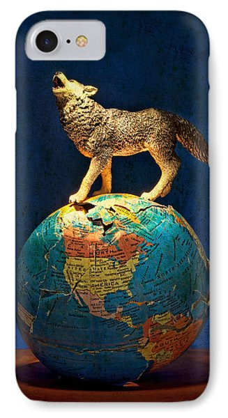 Howling At The Light IPhone Case by Jeff  Gettis