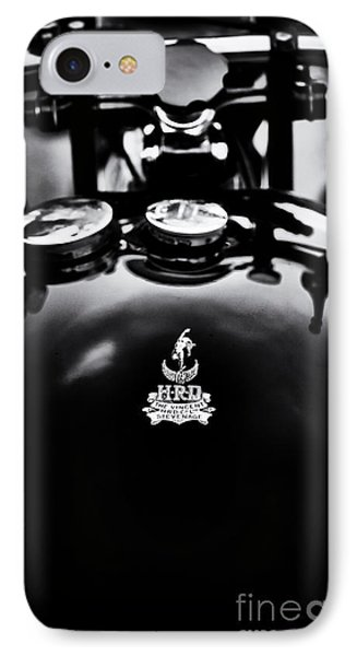 Hrd The Vincent IPhone Case by Tim Gainey