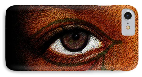 Hru's Eye IPhone Case by Iowan Stone-Flowers