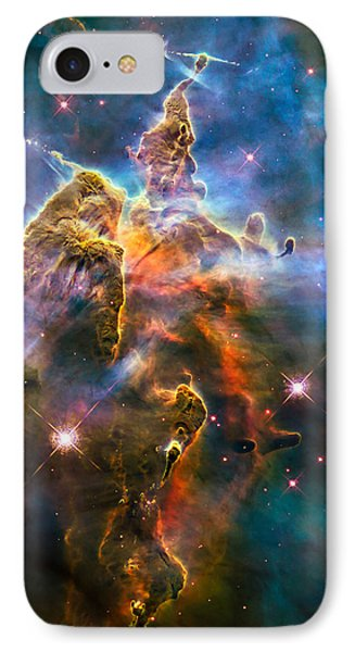 Hubble Captures View Of Mystic Mountain IPhone Case by Marco Oliveira