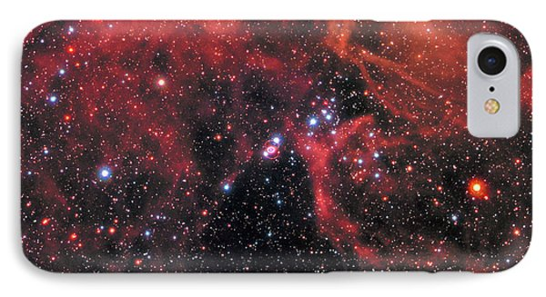 IPhone Case featuring the photograph Hubble Captures Wide View Of Supernova 1987a by Nasa