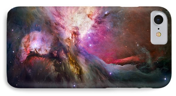 Hubble's Sharpest View Of The Orion Nebula IPhone Case by Adam Romanowicz