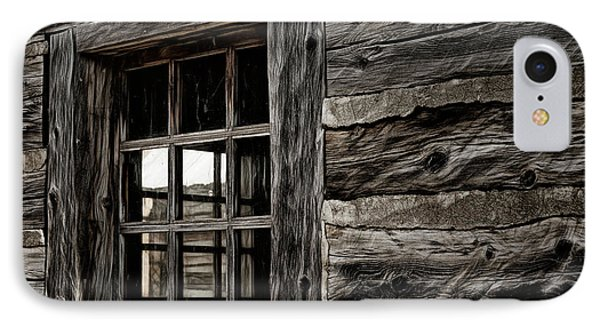 IPhone Case featuring the photograph Hudson Bay Fort Window by Brad Allen Fine Art