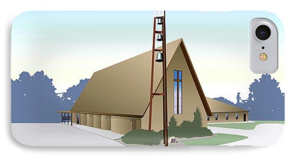 Hudson Community Church IPhone Case
