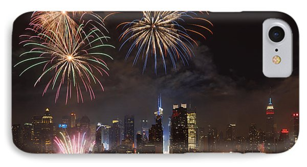 Hudson River Fireworks Iv IPhone Case