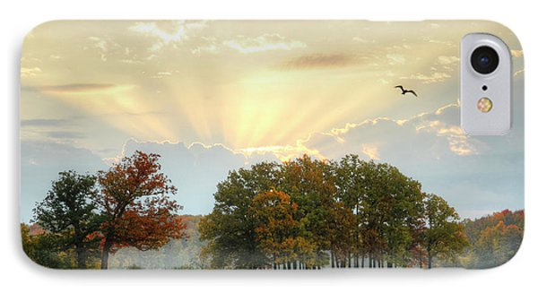 IPhone Case featuring the photograph Hudson Springs Morning by Ann Bridges