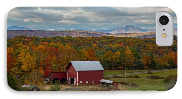 Hudson Valley Ny Fall Colors IPhone Case by Susan Candelario