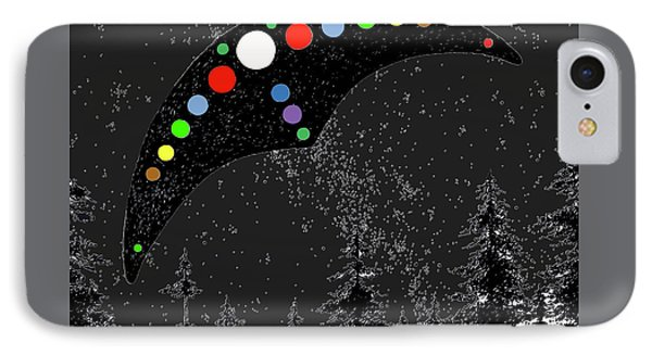 IPhone Case featuring the painting Hudson Valley Ufo by James Williamson