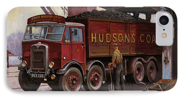Hudsons Coal. Phone Case by Mike  Jeffries