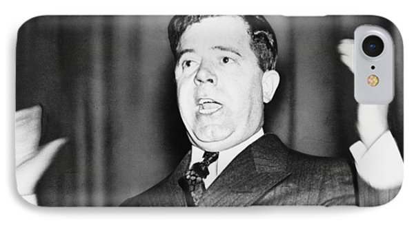 Huey Long - The Kingfish IPhone Case by War Is Hell Store