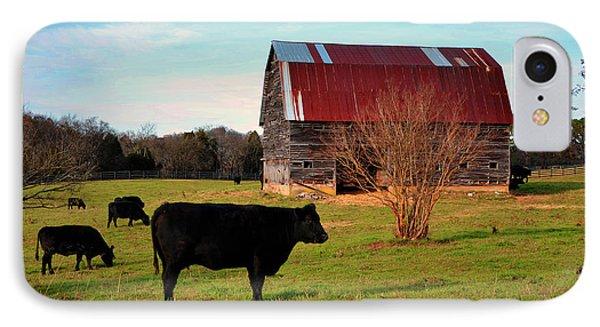 Huffacker Farm IPhone Case by Paul Mashburn