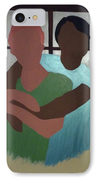 Hug Me IPhone Case by Erika Chamberlin