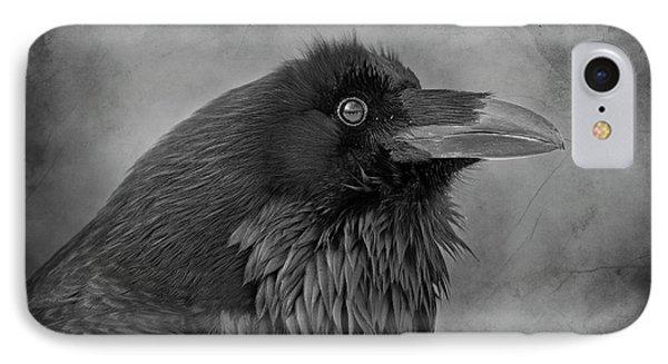 IPhone Case featuring the photograph Huginn... by Nina Stavlund