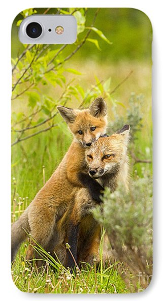 Hugs IPhone Case by Aaron Whittemore