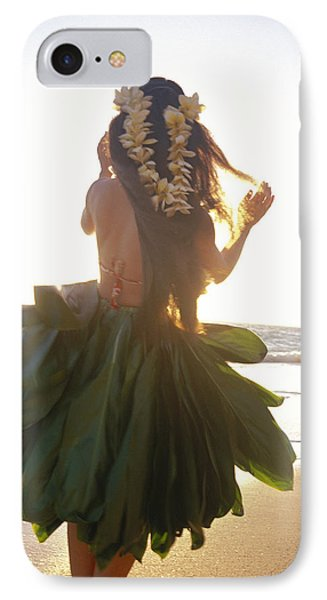 Hula At Sunrise IPhone Case