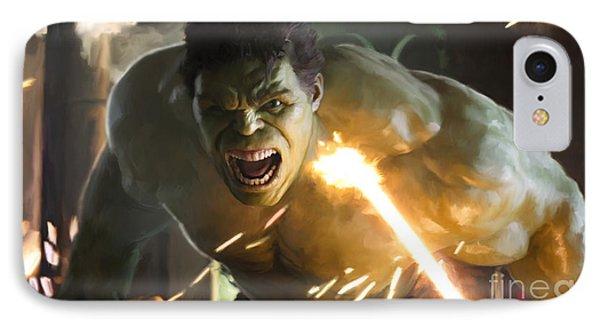 Hulk IPhone Case by Paul Tagliamonte