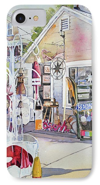 Hull Of A Shoppe IPhone Case by P Anthony Visco
