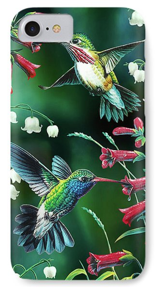 Humming Birds 2 IPhone Case by JQ Licensing