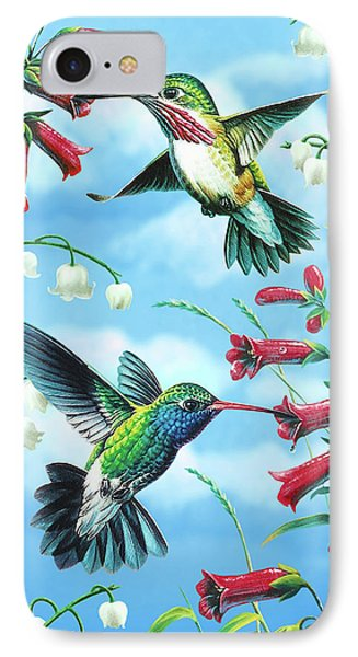 Humming Birds IPhone Case