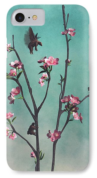 Hummingbears IPhone Case by Cynthia Decker