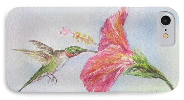 Hummingbird 1 IPhone Case by Gloria Turner