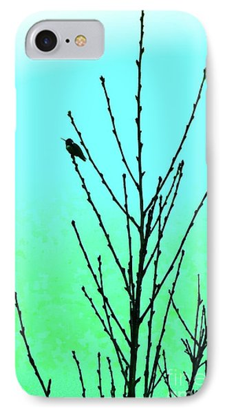 Hummingbird After Rain IPhone Case by Gem S Visionary