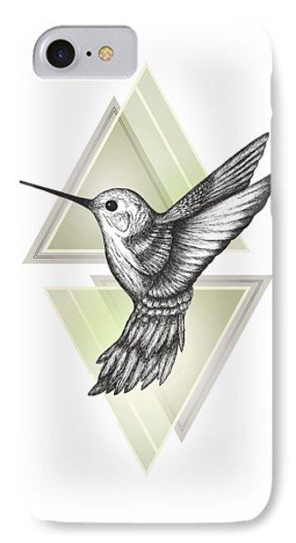 Hummingbird IPhone 7 Case by Barlena