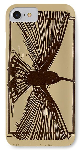 Hummingbird IPhone Case by David Abed