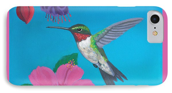 Hummingbird Heaven Phone Case by Frank Strasser
